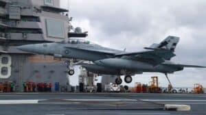 F-18 Carrier Landing