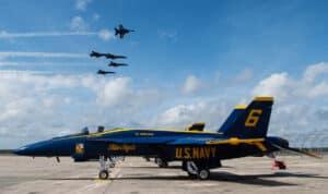 Blue Angels F-18 Super Hornet