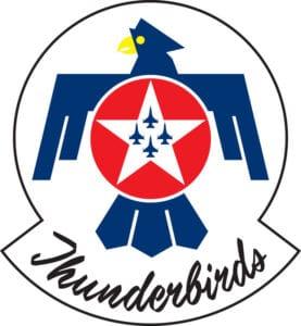 USAF Thunderbirds Logo